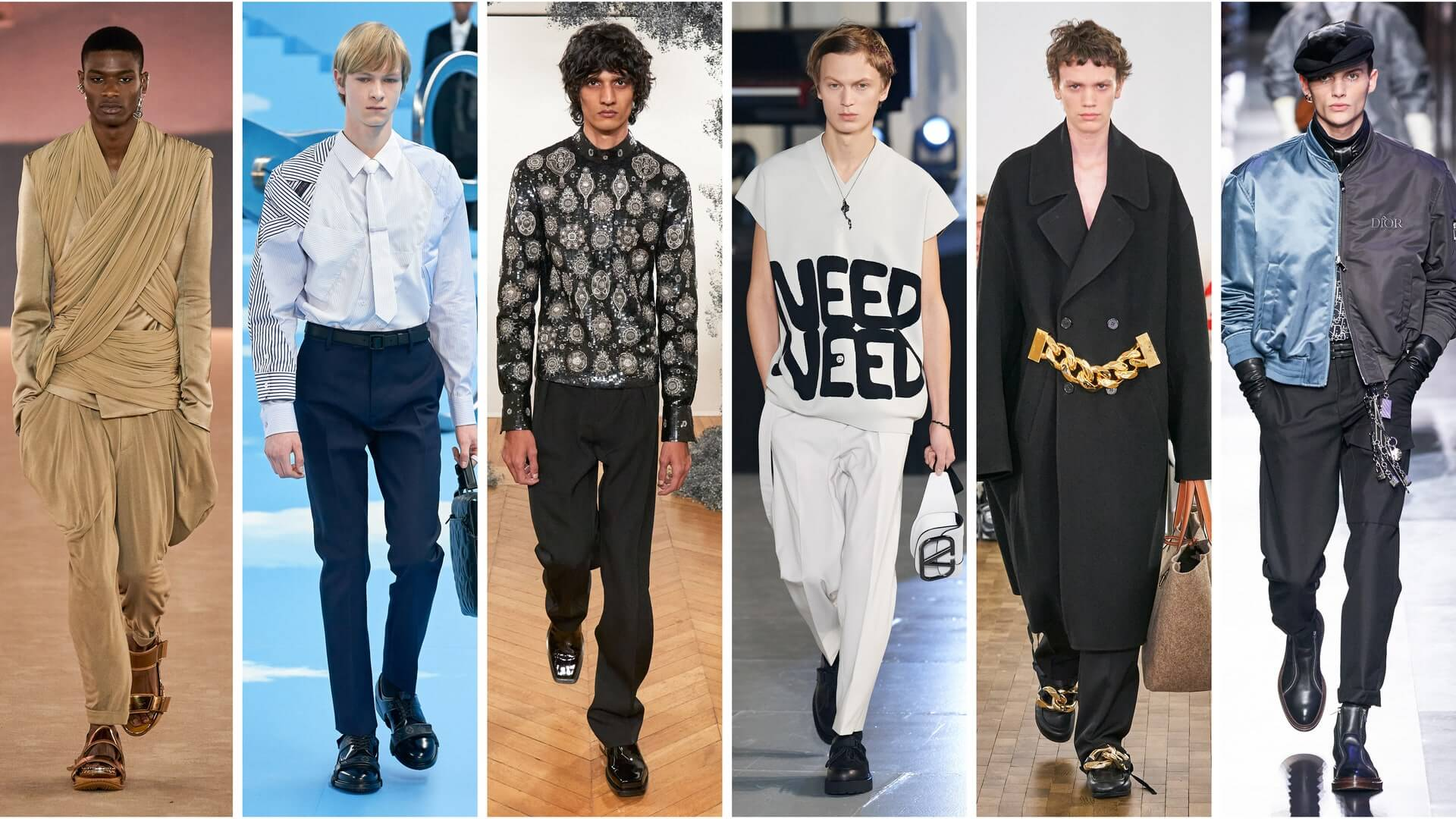 5 TOP FASHION TRENDS FROM MEN'S FASHION WEEK S/S 2020
