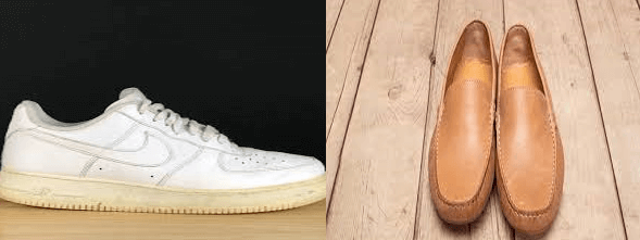 How-to-clean-yellowing-soles-and-soften-hard-leather-shoes