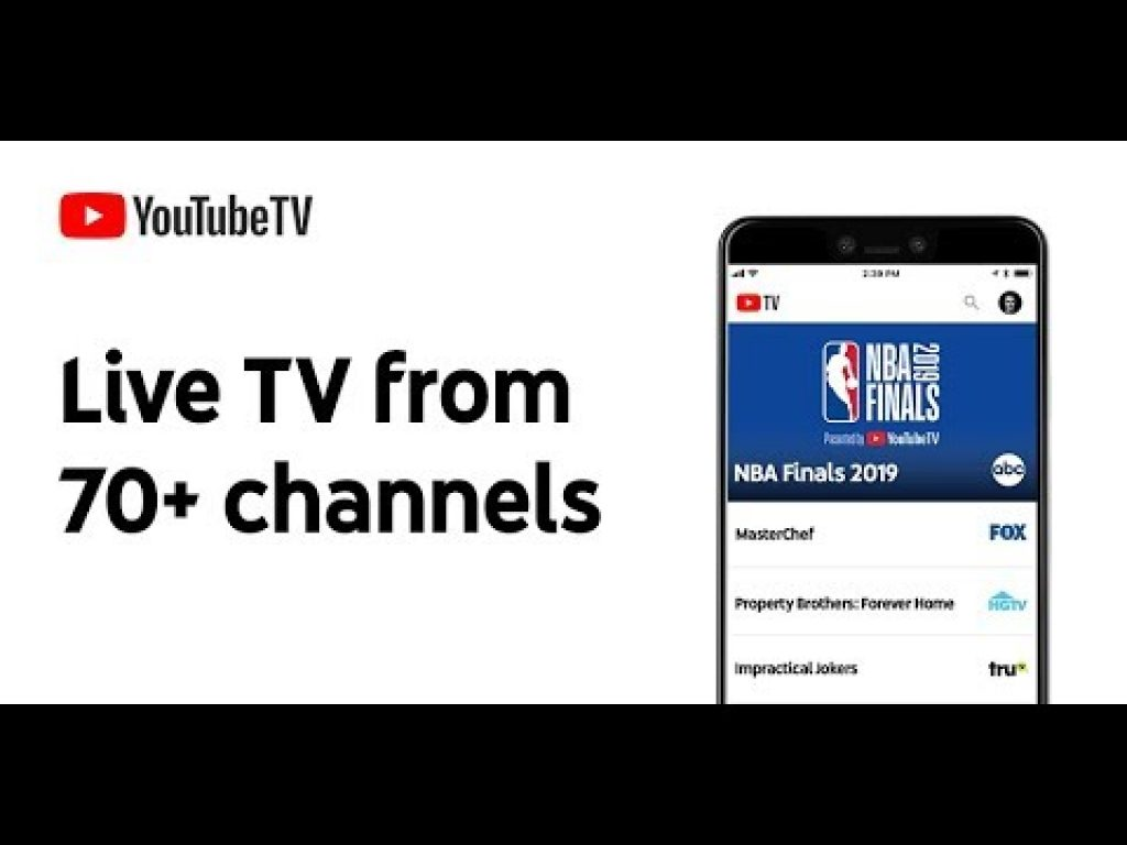 Youtube tv 70 channels